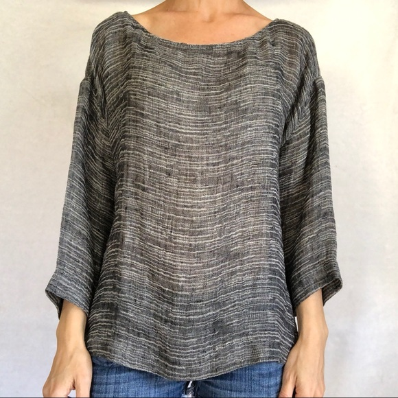 802ee4174 Eileen Fisher Tops - Eileen Fisher Top Women's Large L Blouse
